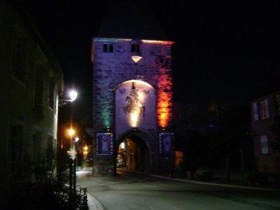 La porte de Mutzig de Nuit