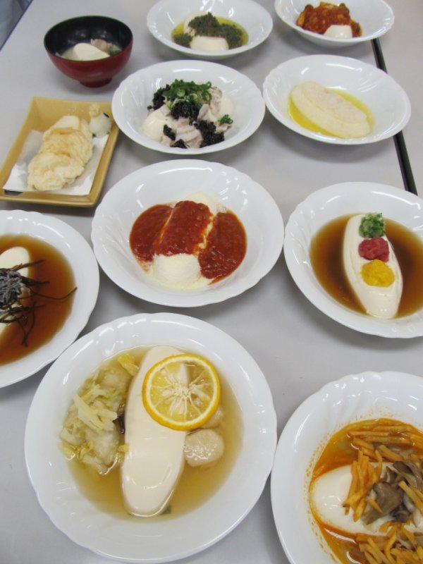 Il y a une variété de moyons de manger notre tofu.