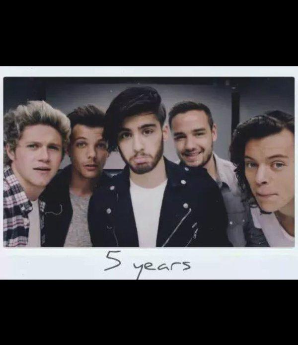 5 ans ...❤