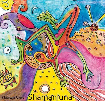 From another Galaxy / Shamanluna - Rêver Est Une Vie (extract) dreaming is the life (2014)