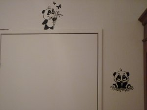 Stickers deco mural