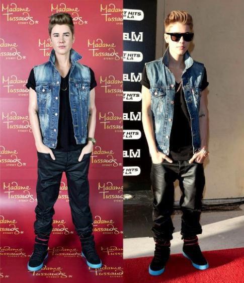 Justin Bieber : Madame Tussauds Sydney, une nouvelle statut de cire !