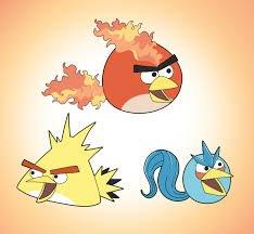 Pokémon version Angry Birds