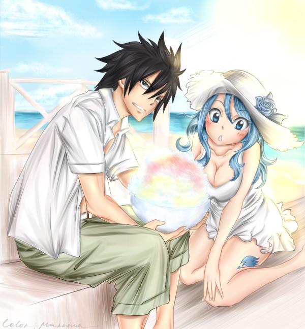Un amour secret à Fairy tail  ? Dans vos rêve !!! Mirajane voie TOUT !!! Venait voir les raisons qui la pousse à croire que vos couples préférer sont ensemble !!
