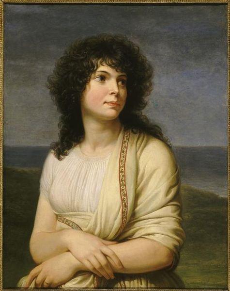 "Andrea Appiani "" Madame Hamelin."" 1798"