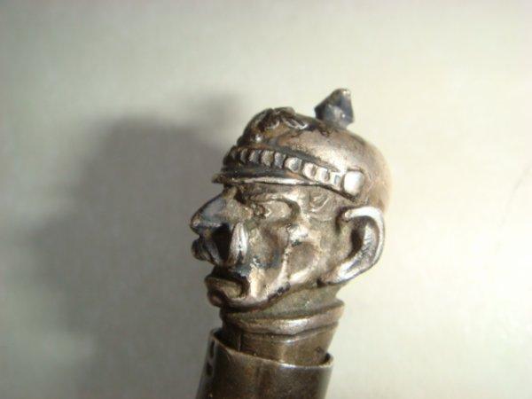 Détail (1) du visage du Kaiser
