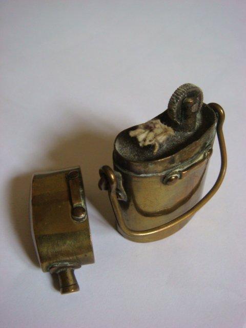 Briquet bouteillon ouvert