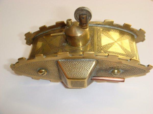 Briquet char Mark IV laiton et cuivre