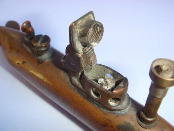 Briquet sous-marin en cuivre