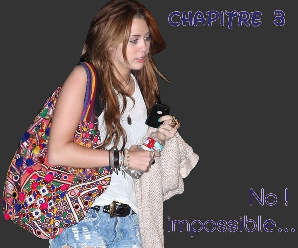 Article ♯007 - Chapitre 3 - No ! Impossible ... - Saturday, Decembre 18th 2010 - 7:30PM Coup d'Boom : Teen-Dream-Story