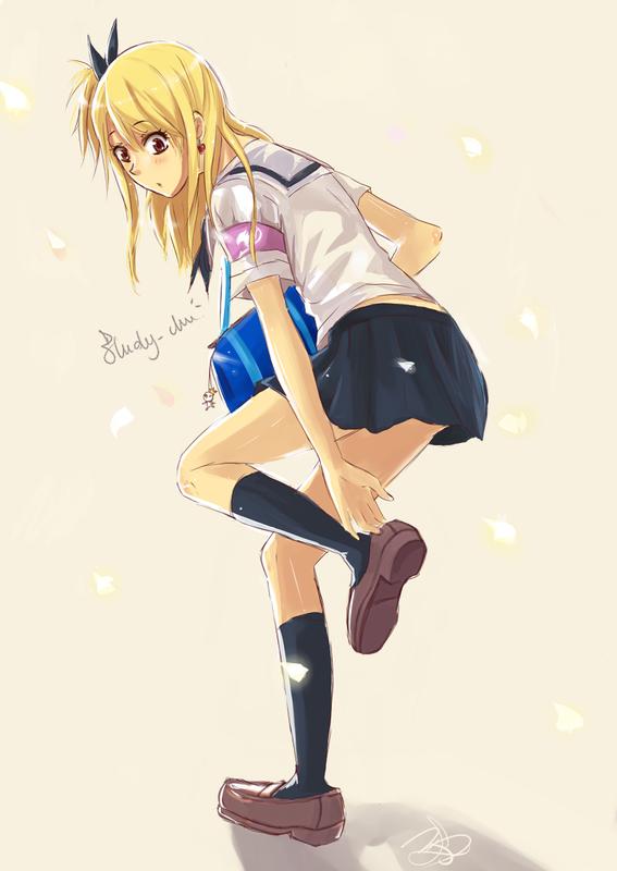 Gakuen Fairy Tail ! L'académie de mon coeur ... Chapter Three ! (Le charme du dragon)