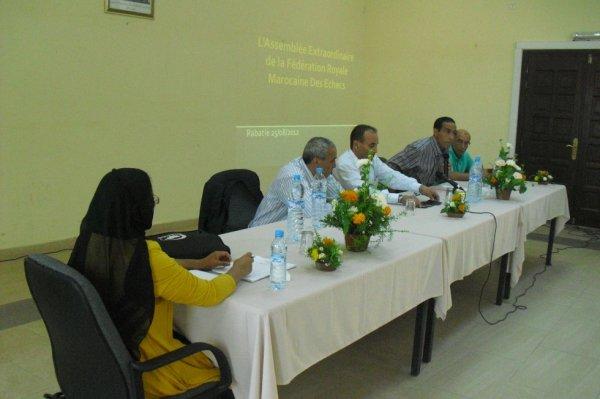 Assemblée générale extraordinaire de la FRME à rabat le 25/08/2012