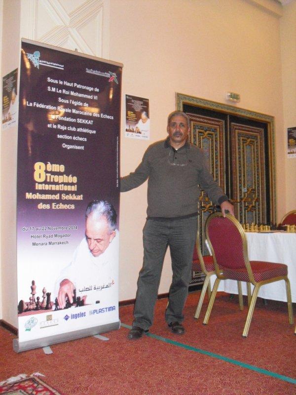 open sekkat  Hôtel mogador Marrakech2014