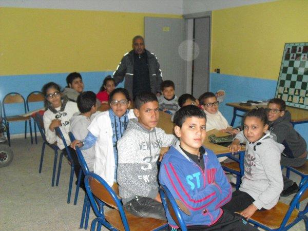 Activités à la maison des jeunes Rahal Elmeskini Kenitra