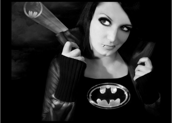 . We can not be together, because I'm Batman...  .