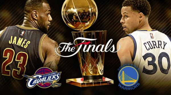 Cleveland vs Golden State ( finale NBA 1-2 )