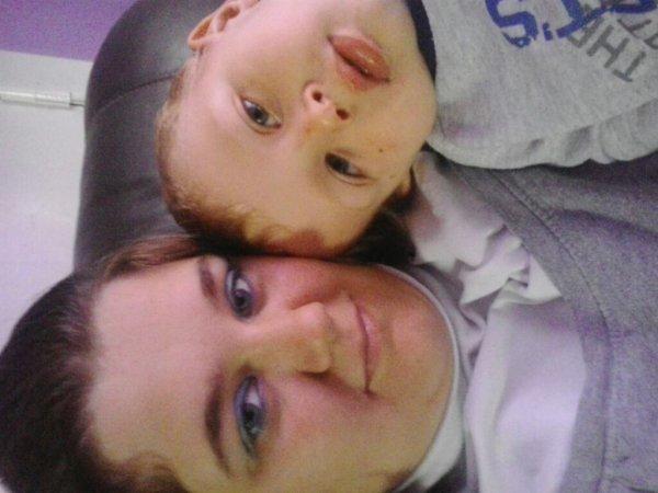 Me voici mtn avec mon fils
