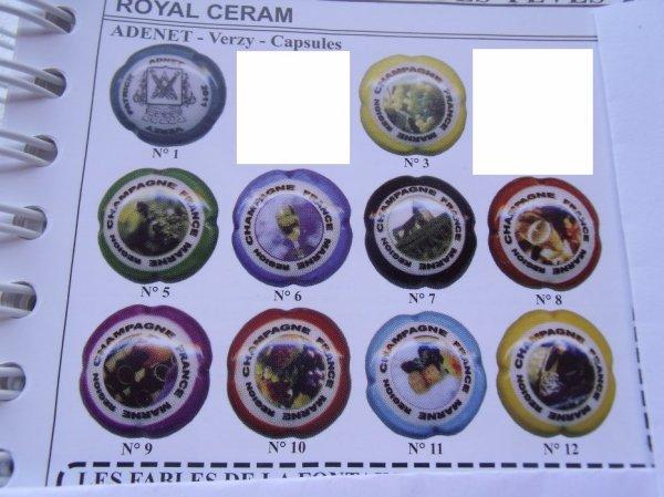 * Capsules Adenet Verzy 2011 Royal ceram