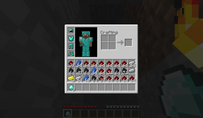 Mais Diamant Dans MineCraft !