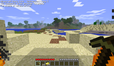 Ma Maison Dans MineCraft !