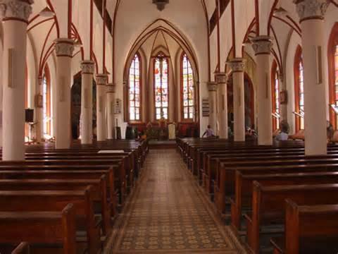 Le coeur de la cathédrale de Lomé
