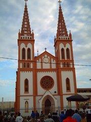 Facade du Sacré-Coeur de Lomé
