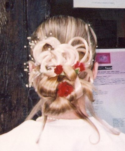 suite idée coiffure mariage...