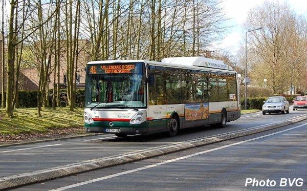 L gende irisbus cit lis 12 sur la ligne 41 villeneuve d 39 ascq blog officiel de transpole for Comhoraire la poste villeneuve d ascq