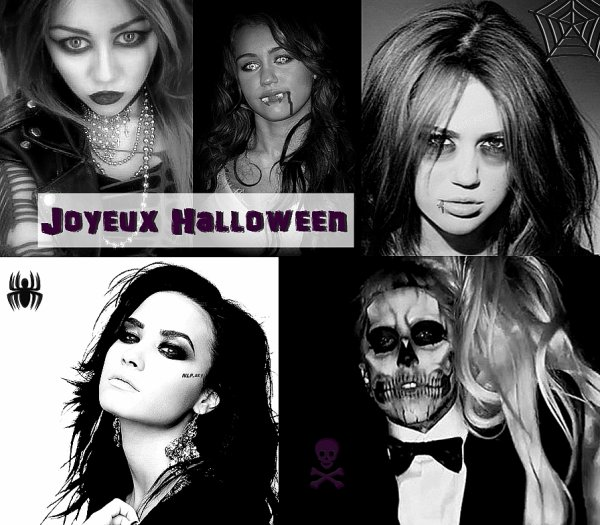 *  Halloween est arrivé sur NoteLesPeoples.sky! Qu'en pensez vous? *
