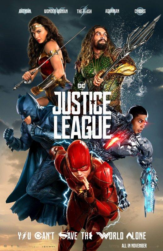 Justice league le dernier film que j'ai vu au ciné et que j'ai adoré