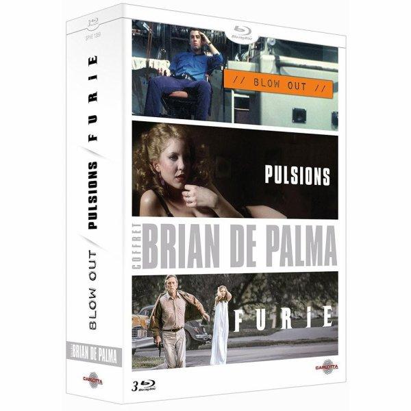 coffret de De Palma Blow Out, Pulsions et Furie