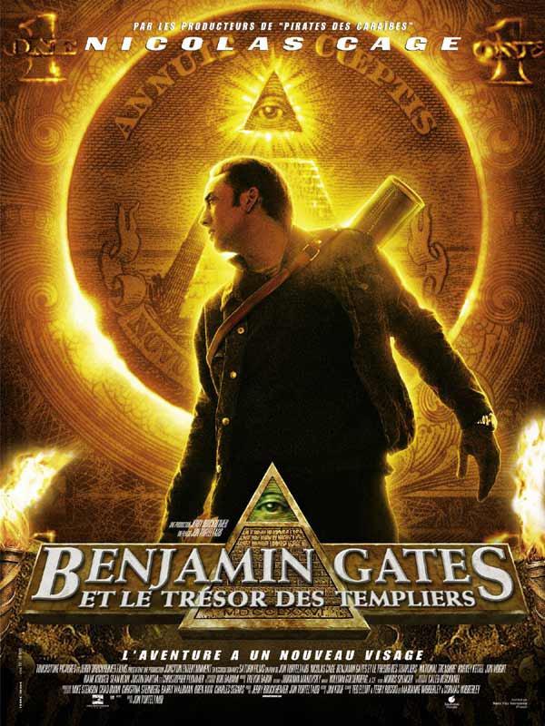 BENJAMIN GATES ET LE TRESOR DES TEMPLIERS LE PREMIER