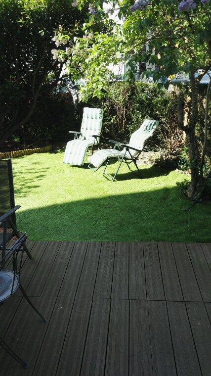 Quelques photos de mon jardin en attendant celles de mon appartement.