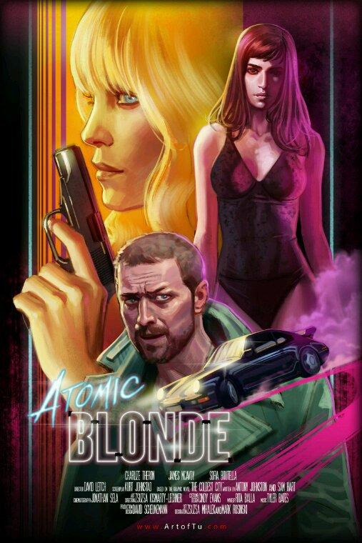 Atomic blonde super cette affiche vous ne trouvez pas ?