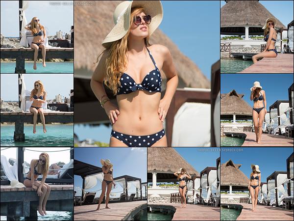 Bella a réalisé un très beau photoshoot pendant ses vacances avec Gregg, à Cancun.