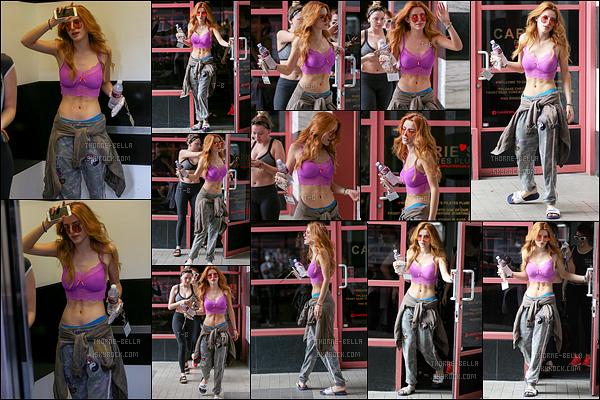 13/09/16 : Notre Bella et l'une de ses amies ont été aperçues quittant leur cours de yoga dans West Hollywood . L'actrice trouve tout de même du temps pour son sport alors qu'elle est encore en tournage ! Concernant la tenue, je n'ai rien à dire.[/font=Arial]