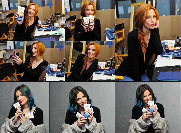 Découvrez le gros photoshoot de Bella Thorne pour la marque pharmacetique «BIORE». Comme vous pouvez le voir, le shoot s'est fait à plusieurs endroits mais aussi sur plusieurs dates, comme en témoignent les cheveux de notre Bella.