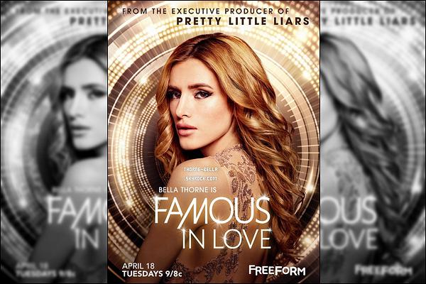 Découvrez le poster et la vidéo promotionnelle du 1x01 de « Famous In Love ».