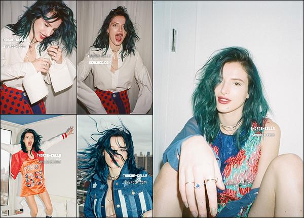 Découvrez le photoshoot de notre Bella Thorne pour le magazine « Wonderland ».