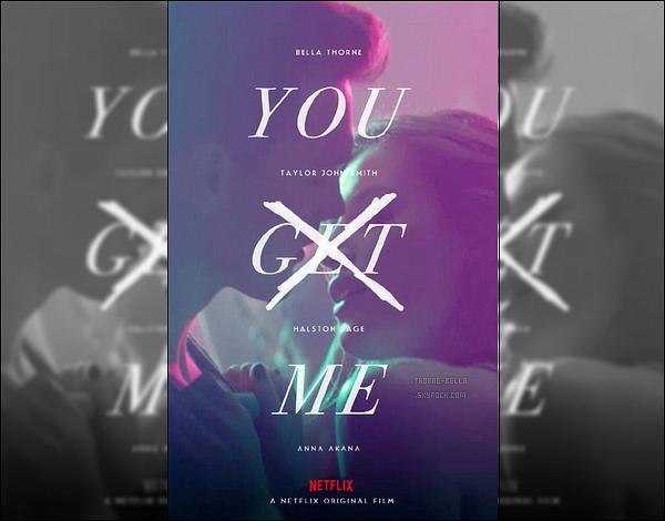 Voici le poster du prochain film de B, « You Get Me », qui sera diffusé sur Netflix.