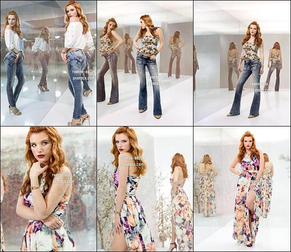 Quelques nouveaux clichés pour « Miss Me - Let Yourself Shine » sont apparus. Cette campagne a été réalisée en 2015, mais il semblerait que tout n'a pas été publié à cette époque... J'adore sa robe fleurie !