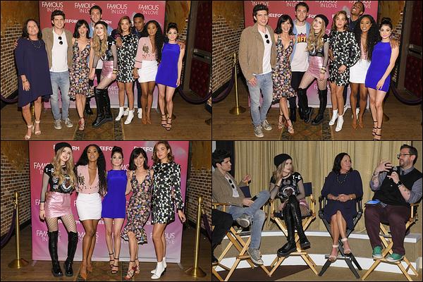 Bella et le cast de FIL se sont rendus à une conférence de presse pour leur promo.