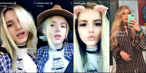 . Découvrez la nouvelle couleur de cheveux de Bella qu'elle a dévoilée sur Snapchat ! .