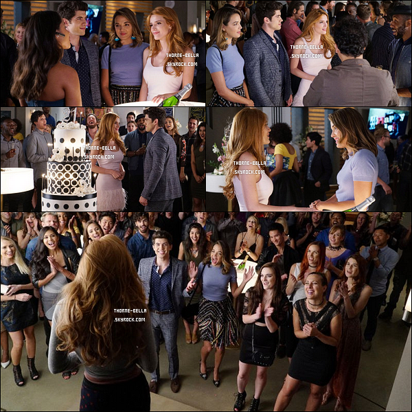 Découvrez quelques stills du 1x05 de Famous In Love, intitulé Some Like It Now.