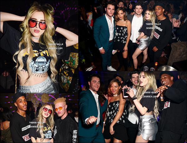 Découvrez quelques photos de Bella et de Kyra durant la soirée organisée par Nylon. L'actrice y a retrouvé ses co-stars de Famous In Love et a posé avec Amber Rose et Sean Ross. L'ambiance était au rendez-vous également. Top!