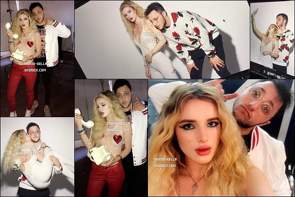 • Bella et Prince Fox ont réalisé un shoot pour la pochette de leur single Just Call.