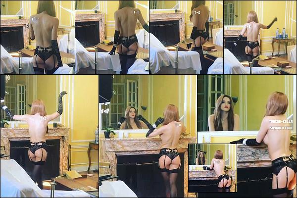 . ✿ Découvrez le BTS d'un shoot ou d'un clip vidéo réalisé en mode topless ce mois-ci. .