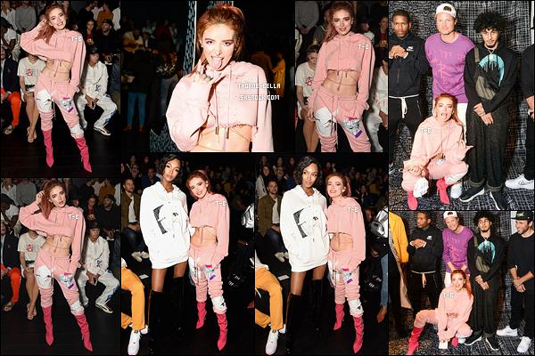 10/09/17 : La jolie Bella Thorne s'est rendue au défilé de Rochambeau durant la Fashion Week de New York. Mon avis concernant sa tenue se trouve sur l'article du dessous. Sinon, elle avait l'air de bien s'amuser, ça fait plaisir à voir. - Avis ?[/font=Arial]