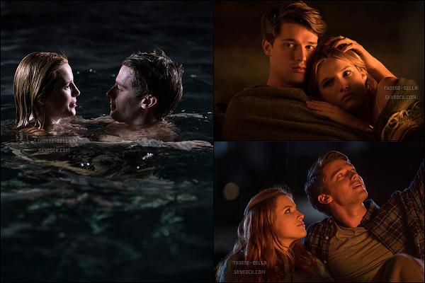 Découvrez ci-dessous les trois premiers stills promotionnels du film Midnight Sun. Le film sortira en janvier aux USA et le 28 mars dans les salles françaises. Bella tient le rôle principal au côté de Patrick Schwarzenegger. J'ai hâte.