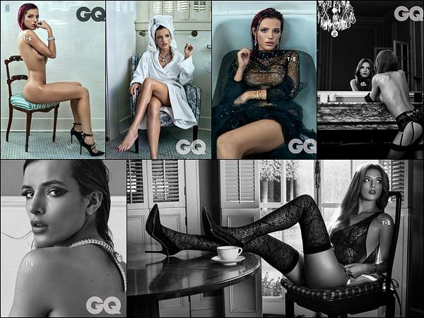 Bella Thorne est à l'honneur du magazine GQ pour le mois d'Octobre, au Mexique.